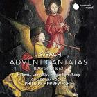 jaquette CD J.S. Bach advent cantatas
