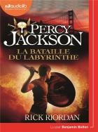 Percy Jackson t.4 - la bataille du labyrinthe | Rick Riordan (1964-....). Auteur