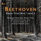 jaquette CD Beethoven piano trios n°s 1 and 3