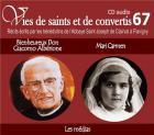 Vies de saints et de convertis t.67 - bienheureux don giacomo albérionne - mari carmen - les médias