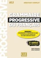 Fle - grammaire progressive du français - a1.1 - débutant (édition 2019)