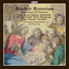 Mirabile mysterium. musique chorale pour le temps de Noël