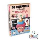 40 comptines et 10 recettes pour mini-chefs