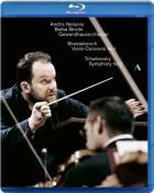 Chostakovitch : concerto pour violon N°1 ; Tchaïkovski : symphonie N°5
