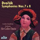 Dvorak : symphonies n°7 et 8