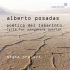Alberto Posadas : poética del laberinto, cycle pour quatuor de saxophone