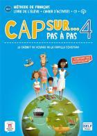 Cap sur pas à pas 4 - fle - a1.1 - livre de l'élève + cahier d'activités + cd + mp3