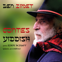jaquette CD Contes Yiddish