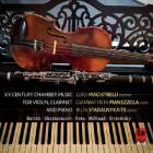 XX century chamber music, for violin, clarinet and piano