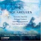 Aquarelles : trios pour flûte de Martinu, Gaubert, Damase, Weber. Boyd, Doane, Snyder