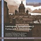 Tsitovich, Slonimsky : symphonies