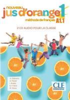 Méthode jus d'orange - fle - niveau a1.1 - 2cds audio pour la classe (édition 2020)