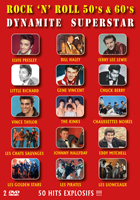 Rock 'N' Roll 50's & 60's Dynamite Superstar - 50 Hits Explosifs !!!