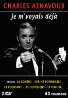 Charles Aznavour : Je m'voyais déjà - 43 chansons - 2 DVD