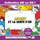 Collection BD en CD : Astérix et la Serpe D'or