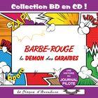 Collection BD en CD : Barbe-Rouge - Le démon des Caraïbes