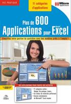 Plus de 600 applications pour Excel