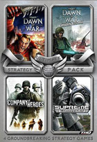 Ultimate strategy - Battlechest : Company of Heroes + Supreme Commander + Dawn of War + Winter Assau