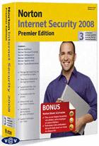 Norton Internet Security 2008 - Premièr Edition - 3 postes