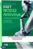 Esed Nod 32 Antivirus - Home Edition - 5 postes