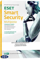 Eset Smart Security - Home Edition - 5 Postes