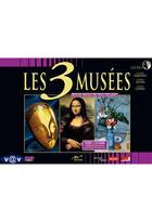 Coffret les 3 musées - Le centre Pompidou + Le Louvre + Le musée d'Orsay - Edition spéciale 2009