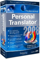 Personal translator 2008 professional - Français / Anglais