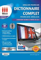 Dictionnaires complets Anglais/Français - Français/Anglais
