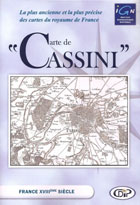 Carte de Cassini – France XVIIIème siècle (Nord-Sud-Localisation)