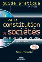 Guide pratique de la constitution de sociétés