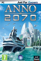 jaquette CD-rom Anno 2070 - Just for Gamers