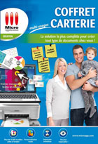 Coffret carterie multi-usages