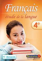 jaquette CD-rom Fran�ais - Etude de la langue 4�me - Site/R�seau