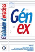 Génex - Un logiciel générateur d'exercices