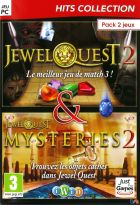 Jewel Quest 2 + Jewel Quest Mysteries 2 - Pack 2 jeux Hits Collection - PC