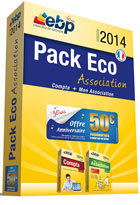Pack �co Association version 2014 : Compta Classic + Mon association Grand Public
