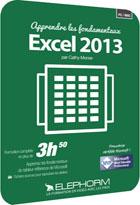 Apprendre Excel 2013 - Les Fondamentaux