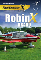 Robin DR 400 X - Add-on pour FS X