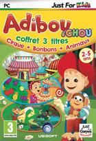 Adiboud'Chou - coffret 3 titres : Cirque + Bonbons + Animaux