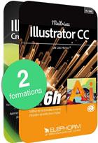 Pack Illustrator CC - Maîtrisez l'outil vectoriel incontournable