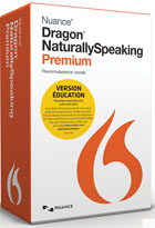 Dragon NaturallySpeaking 13 - Premium Mobile - Version éducation