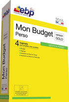 Mon Budget Perso (gestion perso) 2015 - Version Gold - 4 logiciels