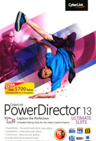 PowerDirector 13 Ultimate Suite