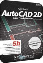 Apprendre AutoCAD 2015 pour l'architecture - Les techniques de dessin en 2D