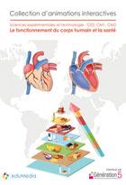 Fonctionnement du corps humain et la santé CE2-CM1-CM2 (Le) - Animations interactives