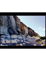 Phénomènes d'érosion : le recul des falaises normandes