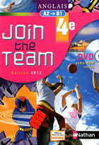 Join the Team 4e - �dition 2012