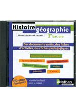 Ressources Histoire-Géographie 1re Bac Pro 3 ans - Édition 2010