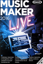jaquette CD-rom Music maker 16 - Live