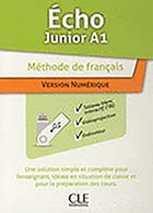 jaquette CD-rom Écho Junior A1 - Version numérique